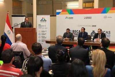 Becas Itaipú ofrece 2.000 plazas universitarias