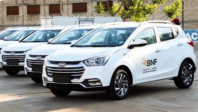 BNF adquiere flota de vehículos ensamblados en Paraguay para mejorar servicios