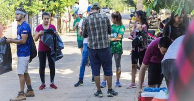 Feroz maratón de limpieza se hace hoy en Asunción