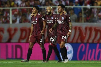 Con gol de Rojas, River mantiene ventaja