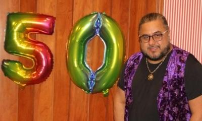 Raimundo Fernández celebró sus 50 años
