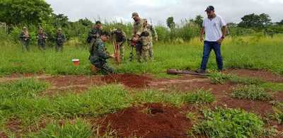 Antidrogas destruyen octava pista clandestina en el norte