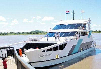 Ferry del Chaco suspende sus servicios en forma temporal