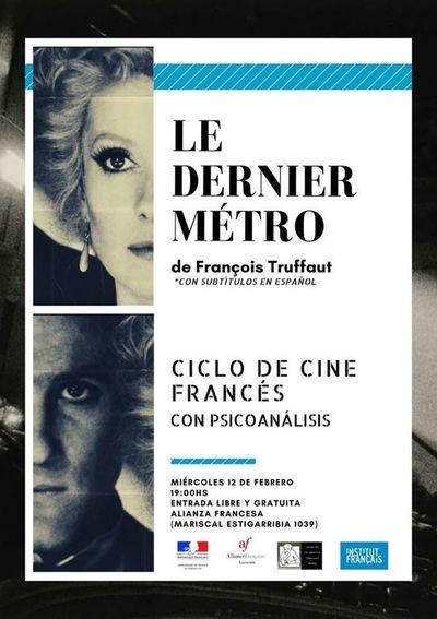 Invitan al ciclo de cine francés a realizarse todos los miércoles de febrero
