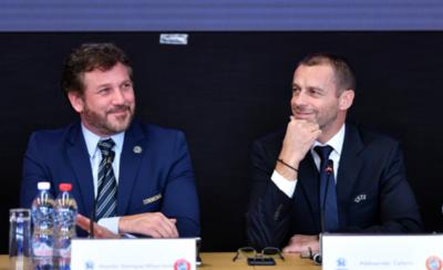 HOY / CONMEBOL y UEFA renuevan y fortalecen sus lazos