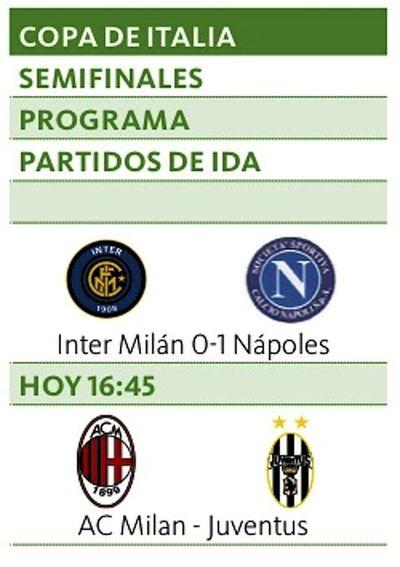 El Nápoles toma ventaja ante Inter