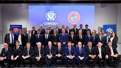 CONMEBOL y UEFA renuevan su camino