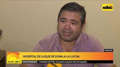 Hospital de Luque se suma a la lucha