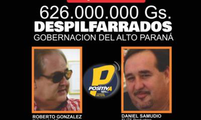 ROBERTO GONZALEZ VAESKEN DESPILFARRÓ 626.000.000 DE GUARANIES EN «PUBLICIDAD», DENUNCIAN