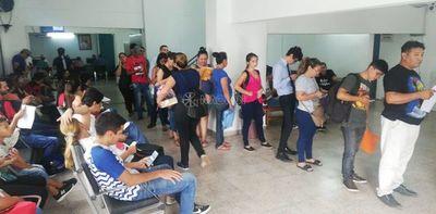 Gran cantidad de personas gestionan reposo en IPS por dengue