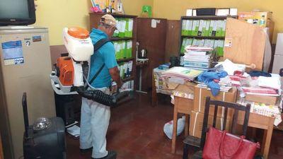Ñemby: realizan mingas en escuelas para inicio de clases