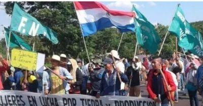 Anuncian marchas campesinas en todo el país