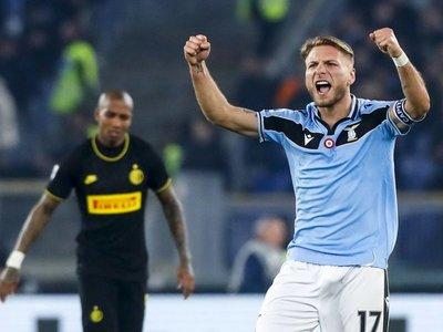 """Lazio vence al Inter y sigue soñando con el """"Scudetto"""""""