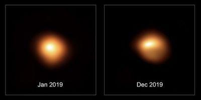 La estrella Betelgeuse pierde brillo y hace soñar a los astrónomos