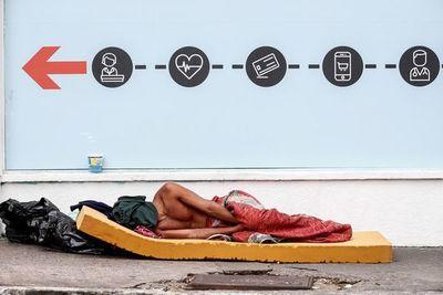 Vivir en las calles de San Pablo, la paradoja en la urbe más rica de Brasil