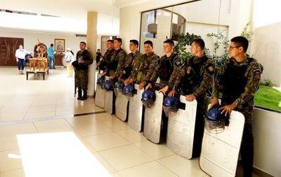 Incidentada reunión de la Junta en Pedro J. Caballero