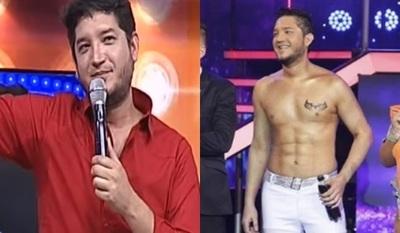 Junior Rodríguez mostró lo que quedó de sus 'abdominales'
