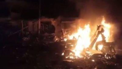 Explosión en ómnibus deja siete muertos y 11 heridos