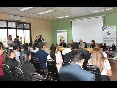 GOBERNACIÓN DE ITAPÚA Y LA UNI RENOVARON CONVENIO MARCO DE COOPERACIÓN