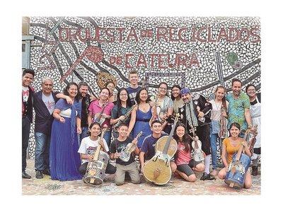 Con sonidos reciclados El barbero de Sevilla llega al Teatro Municipal