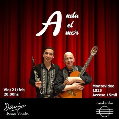 Recital de Dani Moreno en Casa Karaku