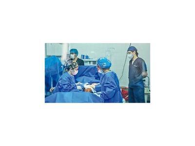 Más de  70  cirugías reconstructivas en Encarnación, en  segunda jornada
