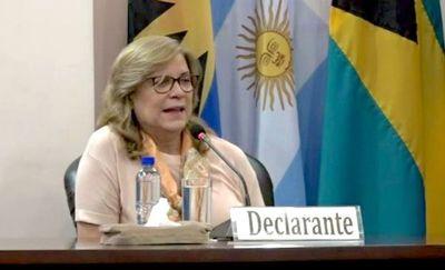 Apelan desestimación de querella contra Cristina Arrom