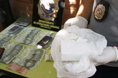 Desarticulan esquema de distribución de cocaína para locales nocturnos en Villa Elisa