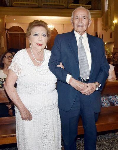 Los 50 años de casados de Blanca Acosta y Líder Riveros