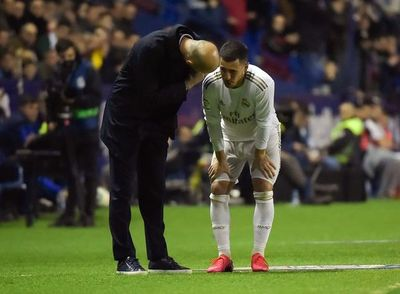 Eden Hazard sufre una nueva lesión