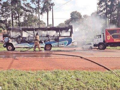 Los buses chatarras y horarios sin cumplir, males del transporte en CDE