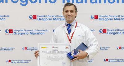 Médico paraguayo es premiado en España