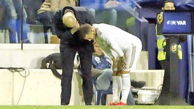 Hazard vuelve a romperse, casi adiós a la temporada