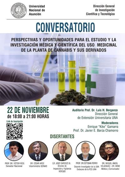 UNA debatirá sobre cannabis