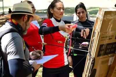 Campeonato Regional de Tiro con Arco en el Parque Lineal