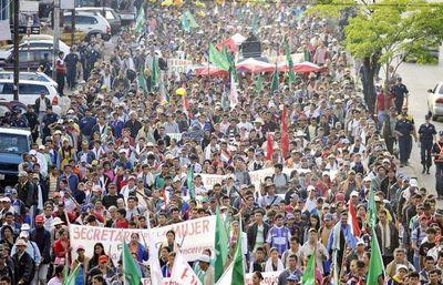 FNC prepara nueva marcha para el mes de marzo