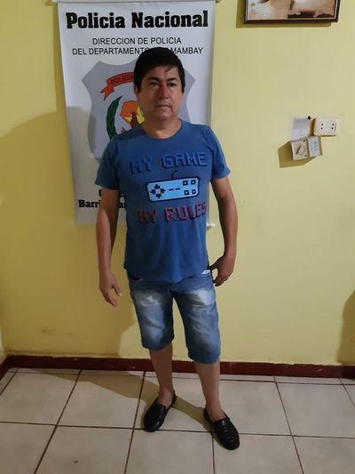 Sujeto requerido por Interpol es detenido en Pedro Juan