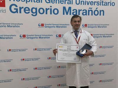 """Médico paraguayo galardonado en España: """"Esto es un logro no solo mío sino de todo el país"""""""
