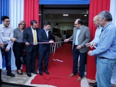 BNF inaugura nueva sucursal en la ciudad de San Alberto, Alto Paraná.