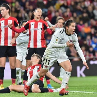 'Pirayú' Martínez anotó para el Tacón/Real Madrid en Copa de la Reina