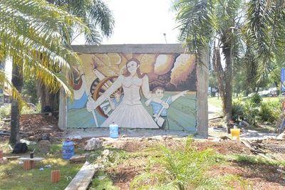 Mañana se inaugura el mural sobre la Guerra de la Triple Alianza