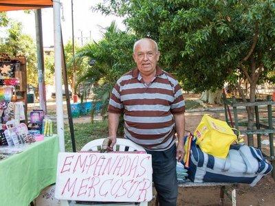 """La """"Empanada Mercosur"""" que es furor en Lambaré"""