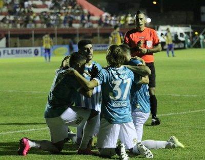 Guaraní venció a Sportivo Luqueño y se acerca a la punta