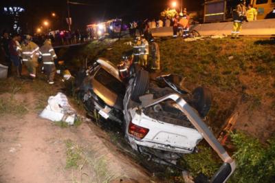 Fatal accidente en Capiatá