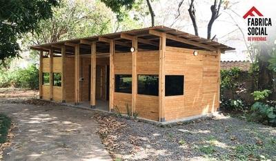 Llega a Paraguay la casa que se construye en 15 días