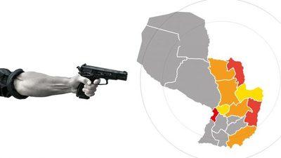 Top 10 de las zonas más violentas del país