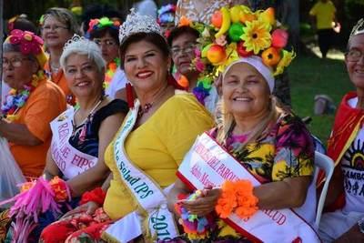 Carnaval de Adultos Mayores se celebró en el CREAM