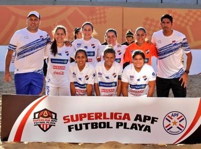 Programadas las primeras fechas de la Superliga de Fútbol Playa Femenino