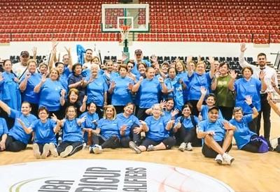 La Secretaría Nacional de Deportes reinició  los encuentros deportivos para Adultos mayores
