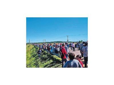 En Caazapá exigen al MOPC que se inicien obras de asfaltado